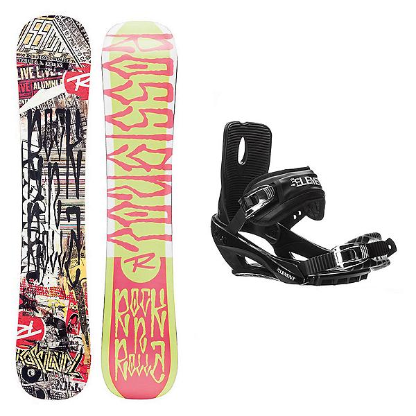 Rossignol RocknRolla AmpTek Stealth 3 Snowboard and Binding Package, , 600