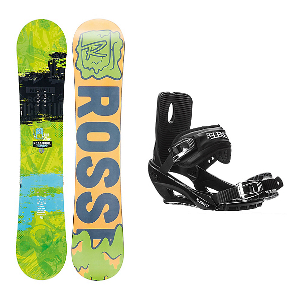 Rossignol Trickstick AmpTek Stealth 3 Snowboard and Binding Package, , 600
