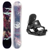 Rossignol Angus MagTek Five Hybrid Snowboard and Binding Package, , medium