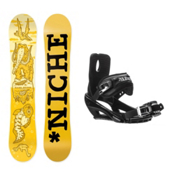 Niche Aether Stealth 3 Snowboard and Binding Package, , medium