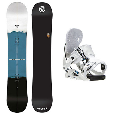 Flow Rush Nexus Snowboard and Binding Package, , viewer
