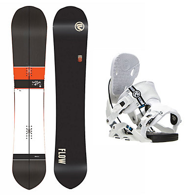 Flow Solitude Nexus Snowboard and Binding Package, , viewer