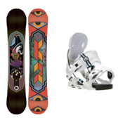 K2 Fastplant Nexus Snowboard and Binding Package, , medium
