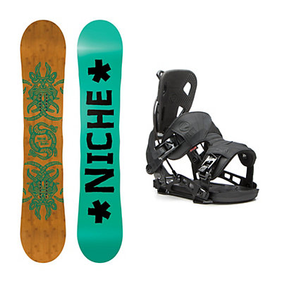 Niche Story Camber NX2 Snowboard and Binding Package, , viewer
