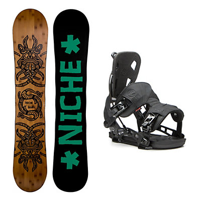 Niche Story 2.0 NX2 Snowboard and Binding Package, , viewer