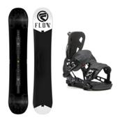 Flow Rush ABT NX2 Snowboard and Binding Package, , medium