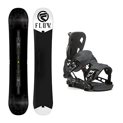 Flow Rush ABT NX2 Snowboard and Binding Package, , viewer