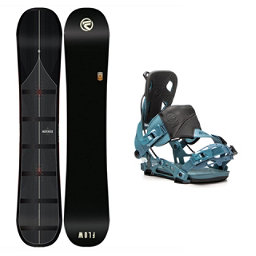 Flow Maverick NX2 Snowboard and Binding Package, , 256