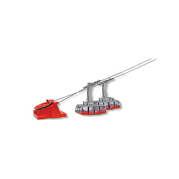 Model Ski Lifts Two Cable Car - Manual 2017, Red, 600