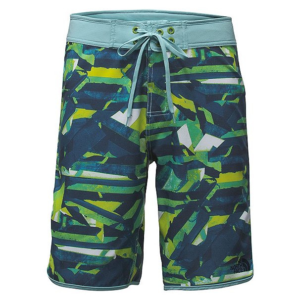 The North Face Whitecap 10 Inch Mens Board Shorts, Urban Navy Boardwalk Print, 600