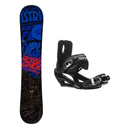 Rossignol District AmpTek Stealth 3 Snowboard and Binding Package, , 256