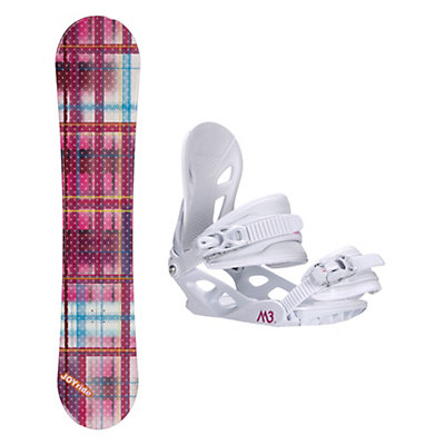 Joyride Gift Pink Solstice 4 Womens Snowboard and Binding Package, , viewer