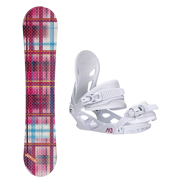Joyride Gift Pink Solstice 4 Womens Snowboard and Binding Package, , 600
