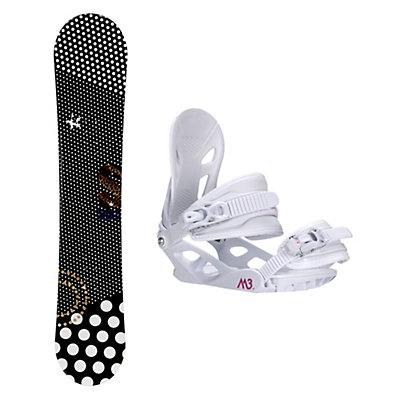 Stella Queen Black Solstice 4 Womens Snowboard and Binding Package, , viewer