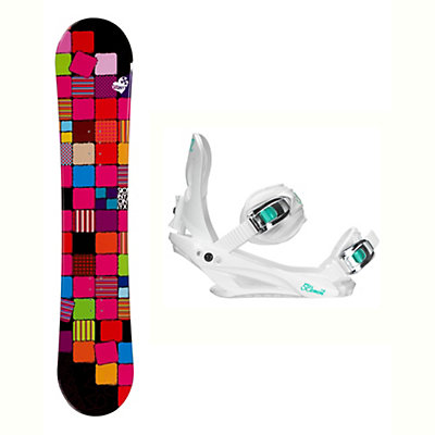 Sionyx Quilt Solstice 4 Womens Snowboard and Binding Package, , viewer