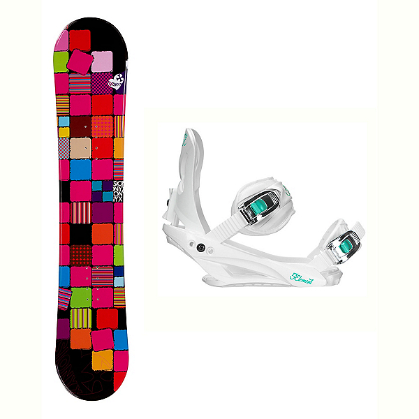 Sionyx Quilt Solstice 4 Womens Snowboard and Binding Package, , 600
