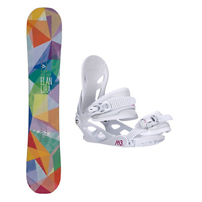 Elan Lira Solstice 4 Womens Snowboard and Binding Package, , viewer