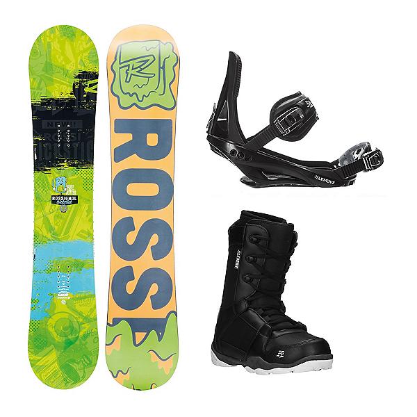 Rossignol Trickstick AmpTek ST-1 Complete Snowboard Package, , 600