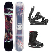 Rossignol Angus MagTek Seem Complete Snowboard Package, , medium