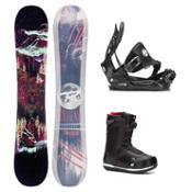 Rossignol Angus MagTek Seem Complete Snowboard Package, , medium