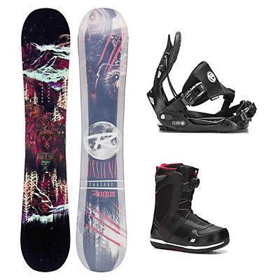 Rossignol Angus MagTek Seem Complete Snowboard Package, , viewer