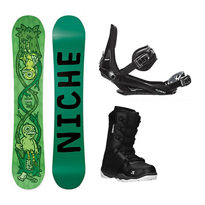 Niche Theme ST-1 Complete Snowboard Package, , viewer