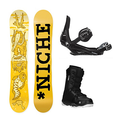 Niche Aether ST-1 Complete Snowboard Package, , viewer