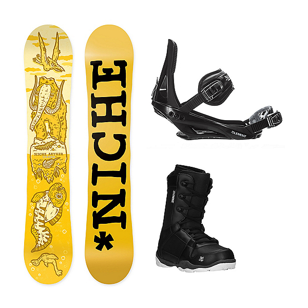 Niche Aether ST-1 Complete Snowboard Package, , 600