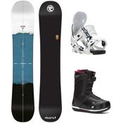 Flow Rush Seem Complete Snowboard Package, , medium