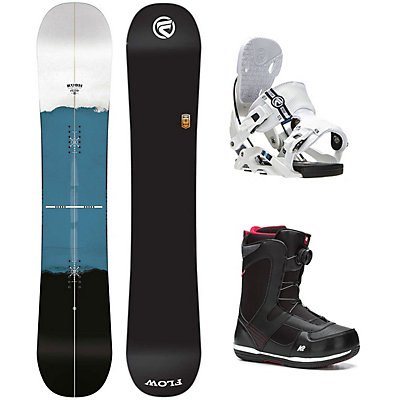 Flow Rush Seem Complete Snowboard Package, , viewer