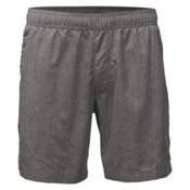 The North Face Guide Pull-On Trunk Mens Board Shorts, Zinc Grey Linen Print, medium