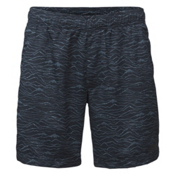 The North Face Guide Pull-On Trunk Mens Board Shorts, Urban Navy Mountain Scape Prin, medium