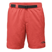 The North Face Belted Guide Trunk Mens Board Shorts, Sunbaked Red, medium