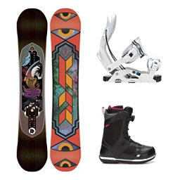 K2 Fastplant Seem Complete Snowboard Package, , 256