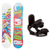 Rossignol Scan AmpTek Stealth Kids Snowboard and Binding Package, , medium
