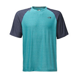 The North Face Short Sleeve Tech Trek Mens T-Shirt, Blue Moon, 256
