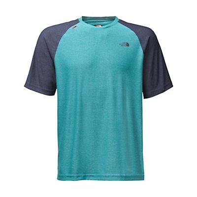 The North Face Short Sleeve Tech Trek Mens T-Shirt, Blue Moon, viewer