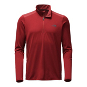 The North Face Versitas ¼ Zip Mens Shirt, Cardinal Red, medium