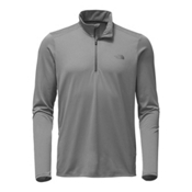 The North Face Versitas ¼ Zip Mens Shirt, Mid Grey, medium