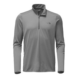 The North Face Versitas ¼ Zip Mens Shirt, Mid Grey, 256