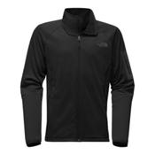The North Face Borod Full Zip Mens Fleece Mens Jacket, TNF Black-TNF Black, medium