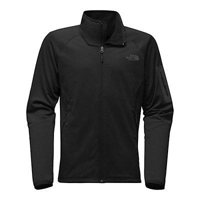 The North Face Borod Full Zip Mens Fleece Mens Jacket, TNF Black-TNF Black, viewer