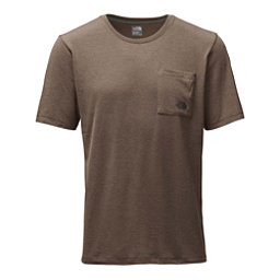 The North Face Short Sleeve Crag Mens T-Shirt, Falcon Brown Heather, 256