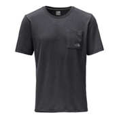 The North Face Short Sleeve Crag Mens T-Shirt, TNF Dark Grey Heather, medium