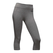 The North Face Pulse Capri Tight Womens Pants, TNF Medium Grey Heather, medium