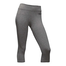 The North Face Pulse Capri Tight Womens Pants, TNF Medium Grey Heather, 256