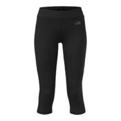 The North Face Pulse Capri Tight Womens Pants, TNF Black, medium