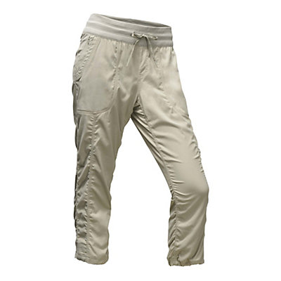 The North Face Aphrodite 2.0 Capri Womens Pants, Granite Bluff Tan, viewer
