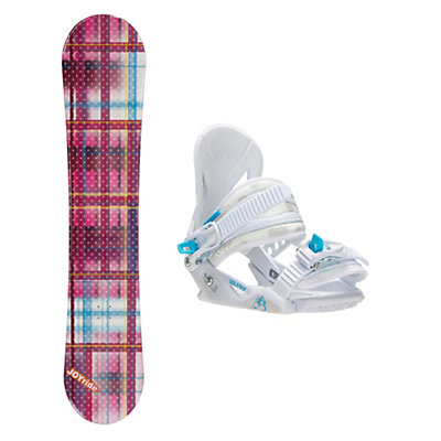 Joyride Gift Pink Solstice Girls Snowboard and Binding Package, , viewer