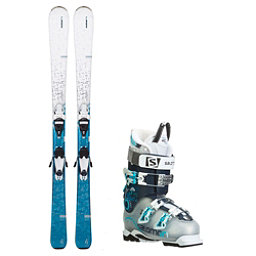 Elan Delight Quest Pro 80 Womens Ski Package, , 256